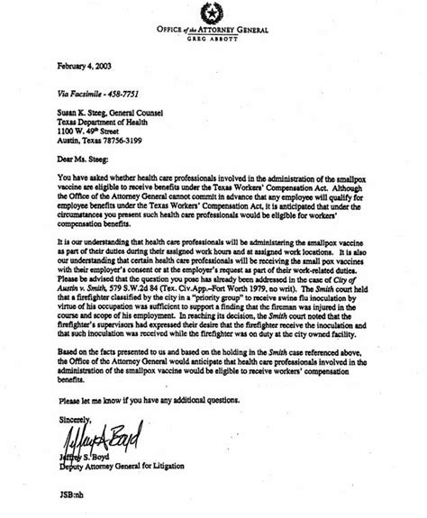 National Service Deferment Letter Sle Smallpox Vaccine Injury Project Breaking News