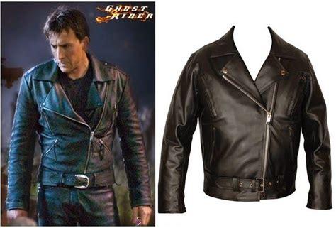 Jaket Kulit Front Belt Jaket Kulit Ghost Rider Nicolas Cage Jaket Kulit Jhonny