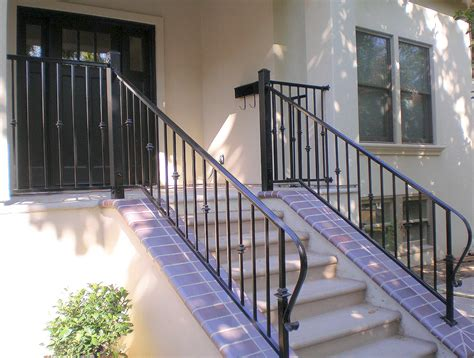 front porch metal railings enchanting metal porch railing including ideas trends