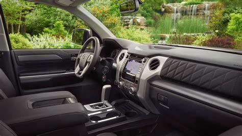 Tundra Platinum Interior by 2018 Toyota Tundra Platinum Crewmax Interior Toyota Of