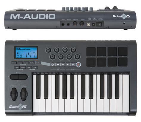 format audio midi m audio axiom 25 image 734239 audiofanzine