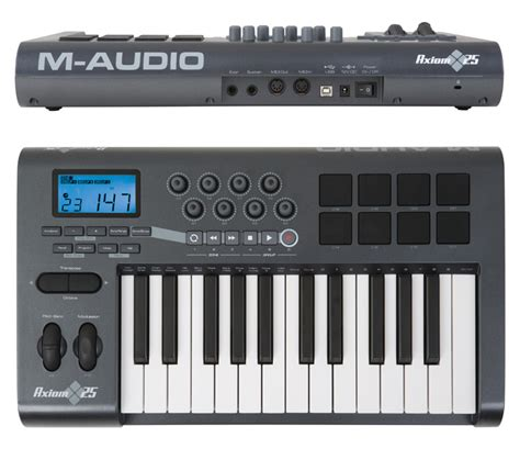 format audio untuk keyboard m audio axiom 25 image 734239 audiofanzine