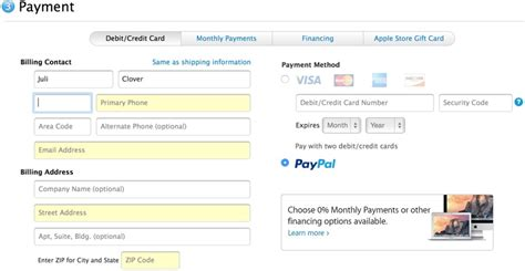 make a store card payment apple store now accepting paypal payments mac rumors
