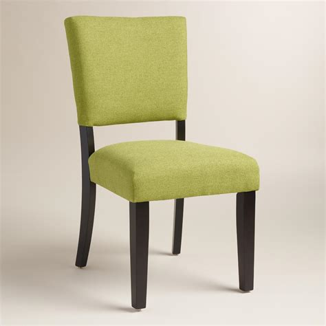 Green Dining Room Chairs by Green Mady Dining Chairs Set Of 2 World Market