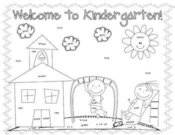 Printable Coloring Pages For The First Day Of School | first day coloring worksheet kindergarten christine