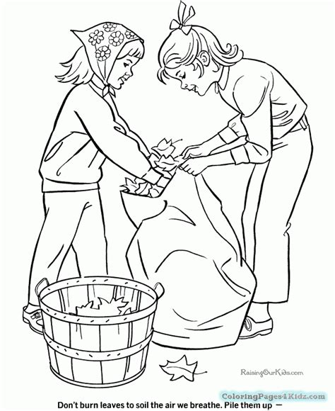 autumn full print off coloring pages coloring pages for kids