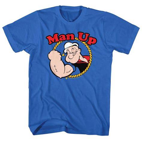 T Shirt Muhammad Ali Biru Royal popeye shirt up royal t shirt popeye shirts