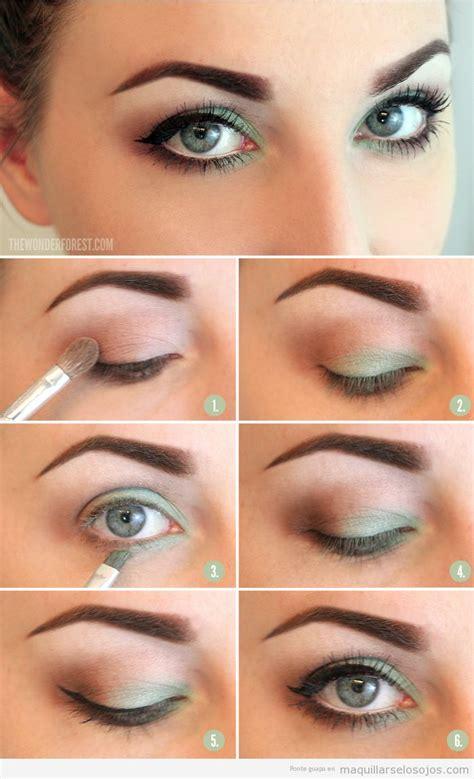 www tutorial tonos verdes archivos maquillarse los ojos