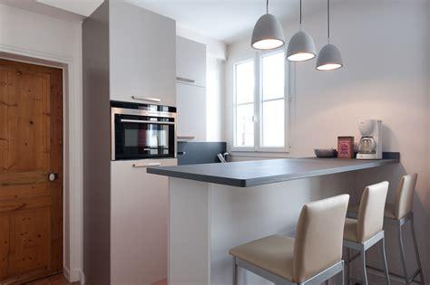 cuisine equip馥 studio r 233 alisation d une cuisine design et 233 quip 233 dans un concept