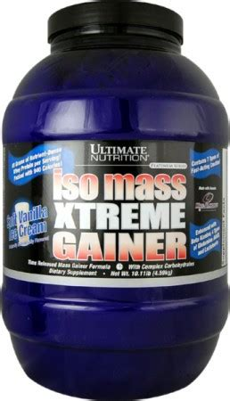 Ultimate Nutrition Whey Gainer deal alert ultimate nutrition iso mass xtreme gainer 10lbs for 42