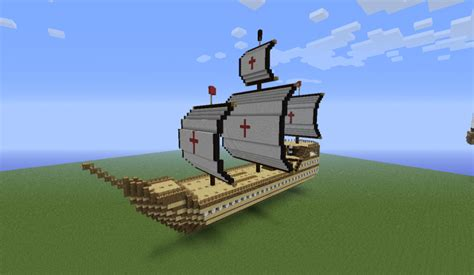 minecraft birch boat radiance crusader ship grabcraft your number one