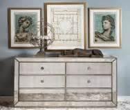 Hello Dresser Furniture by Omni Mirrored Dresser