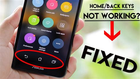 home button back button not working easy fix no root