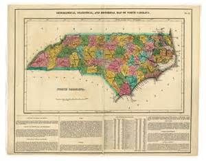 carolina historical maps geographical statistical and historical map of