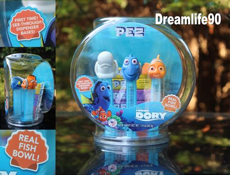 Finding Dory Pez finding dory pez gift set mint in bowl