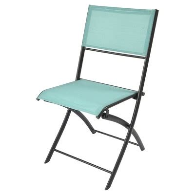 Room Essentials Bistro Chair Sling Folding Patio Bistro Chair Threshold Room Essentials Target