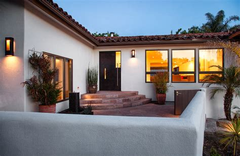 Mediterranean Home Decor Accents Santa Barbara Mission Canyon Mediterranean Exterior