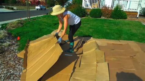 convert your lawn by sheet mulching youtube