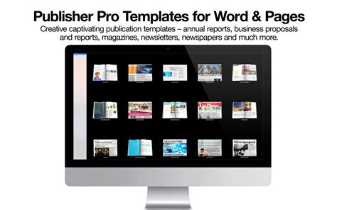 my publisher templates app shopper publisher pro templates for word pages