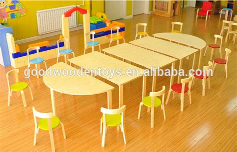 kindergarten table and chairs design plywood material kindergarten table and chairs