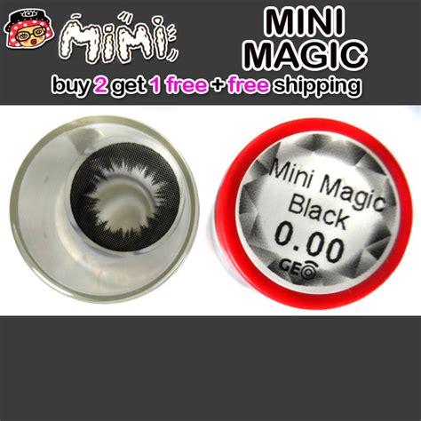 Geo Ultra Ck 147mm contact lens mimi magic black color lens korean lens