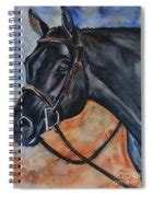 Black Horse Head Painting By Maria S Watercolor