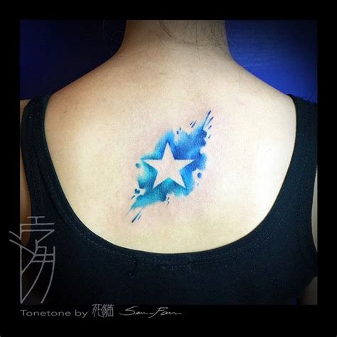 watercolor star tattoo watercolor search tattoos