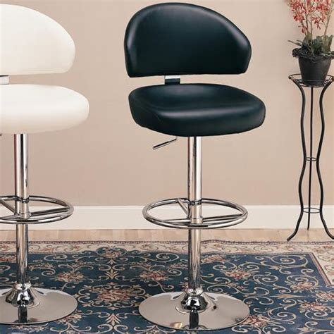 Adjustable Height Dining Room Chairs Coaster Dining Chairs And Bar Stools 29 Upholstered Bar