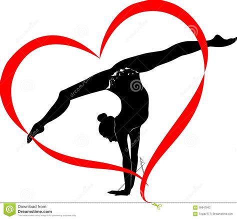 clipart ginnastica logo di ginnastica illustrazione vettoriale illustrazione