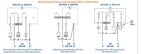 defrost timer wiring diagram precision electric heat
