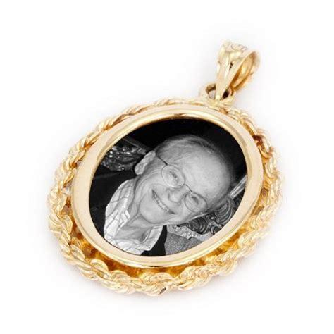 regal yellow regal yellow gold photo pendant