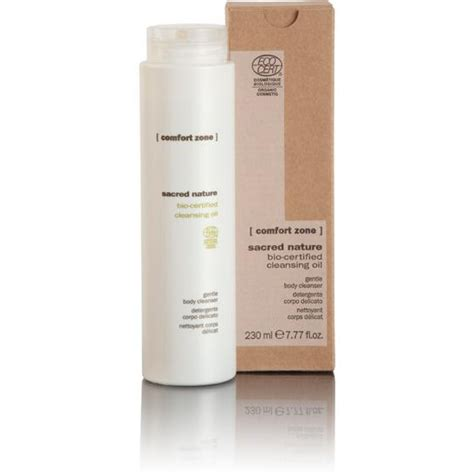 comfort zone face products comfort zone sacred nature cleansing oil 230ml cleanser