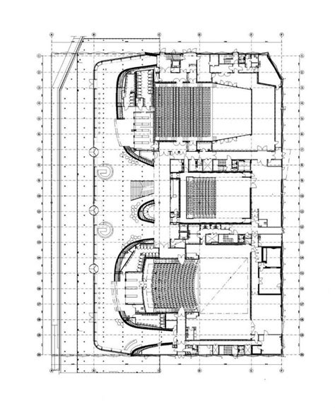concert hall floor plan 64 best theaters images on pinterest architecture
