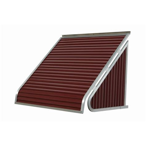 awning home depot nuimage awnings 4 ft 3500 series aluminum window awning