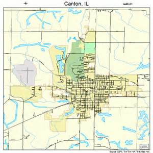 canton illinois map 1711007