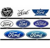 Logos Undergo Significant Changes Not So Often The Ford Logo Was