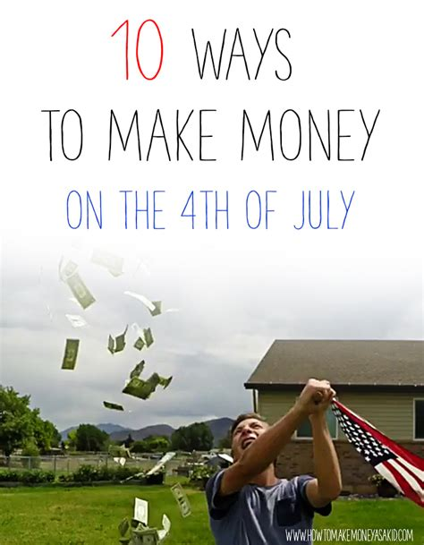 How To Make Money Online Fast For Teenagers - 10 brilliant summer ideas how to earn money for kids howtomakemoneyasakid com