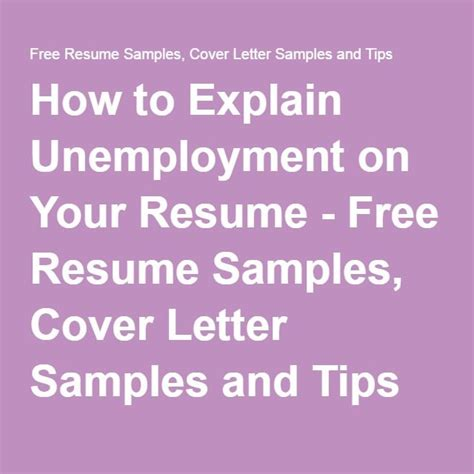 6 tips on how to tailor your resume how to explain unemployment on your resume free resume