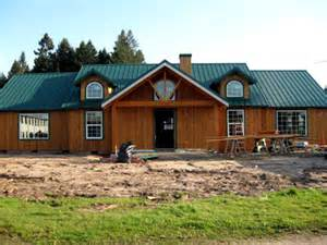 Kitchen Remodel Floor Or Cabinets First - oregon pole barns pole amp post frame buildings pacific northwest construction