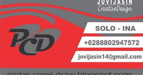 desain kartu nama menggunakan corel draw cara membuat desain kartu nama dengan coreldraw x4 x5 x6 x7