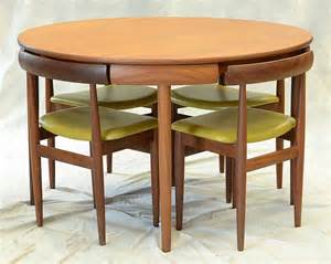 Compact Dining Room Table And Chairs Compact Dining Room Table Marked Rem Rojle Made In Denmark