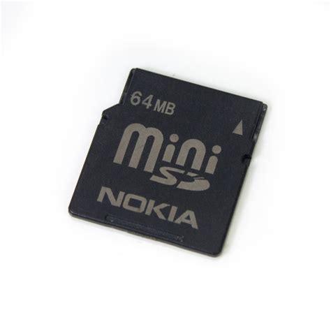 Memory Card Nokia N73 nokia 64mb mini sd memory card for n80 e70 n93 n73 6282 e61 mobile phone ebay