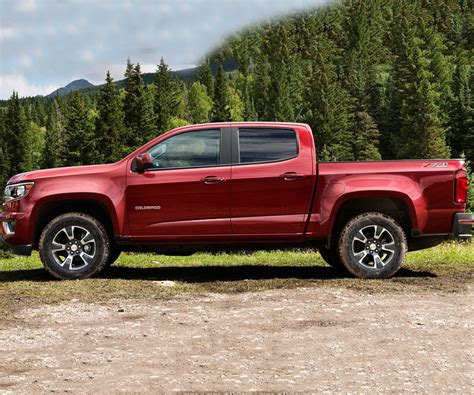 chevy colorado a few more tweaks for updated chevy colorado