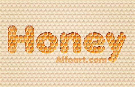 honeycomb pattern font 50 carefully selected photoshop text effect tutorials