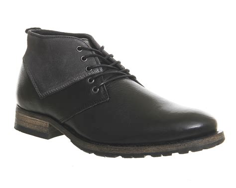 Black Master Boots Laskar Size 39 44 ask the missus ambition chukka boots black leather suede