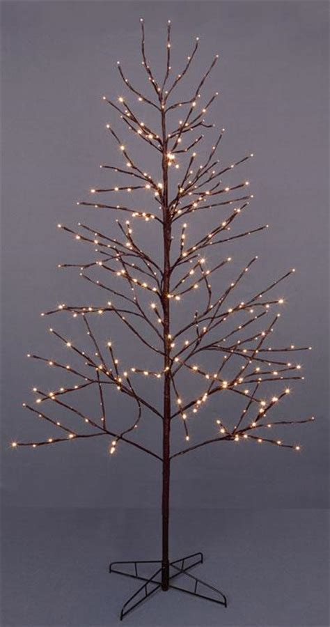 premier 1 8m 72ins brown christmas twig tree with