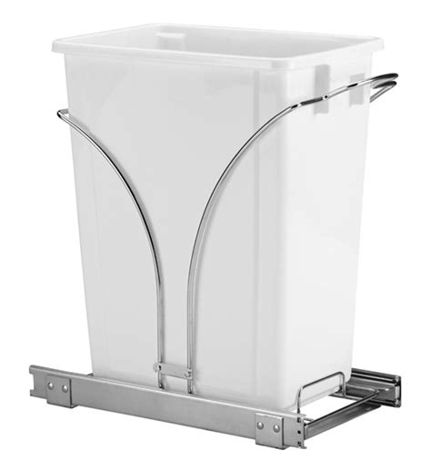 pull out kitchen cabinet wastebasket 9 gallon