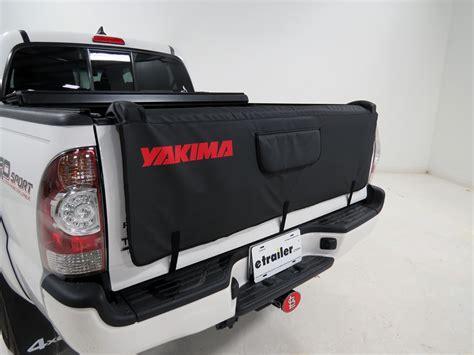 bike rack for truck tailgate yakima crashpad tailgate pad and bike carrier for compact