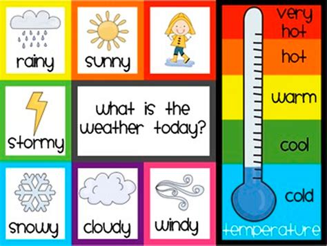 free printable weather graphs 6 best images of season and weather free printables free