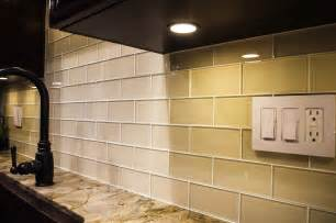 Kitchen Backsplash Glass Subway Tile by Cream Glass Subway Tile Subway Tile Outlet